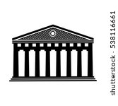 palace icon vector illustration | Shutterstock .eps vector #538116661