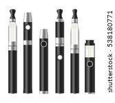 vape pen. electronic cigarette... | Shutterstock .eps vector #538180771