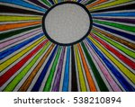 colorful ceramic wall as... | Shutterstock . vector #538210894
