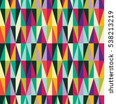 seamless pattern with... | Shutterstock .eps vector #538213219