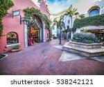Small Square In Santa Barbara ...