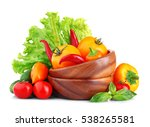 fresh natural ingredients for... | Shutterstock . vector #538265581