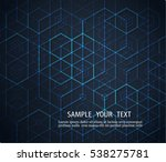 abstract background with... | Shutterstock .eps vector #538275781