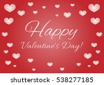 card with the text happy... | Shutterstock .eps vector #538277185