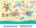 vector illustration. sunny... | Shutterstock .eps vector #538283191