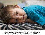 Small photo of child ailing chickenpox