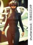 Science Fiction Female Pilot...
