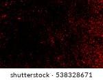 grunge style halloween... | Shutterstock .eps vector #538328671