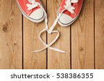 valentine's day concept with... | Shutterstock . vector #538386355