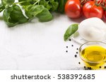 ingredients for cooking italian ... | Shutterstock . vector #538392685