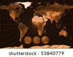 map of the world | Shutterstock . vector #53840779
