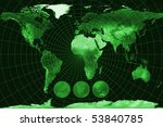 map of the world | Shutterstock . vector #53840785
