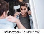 close up portrait of a... | Shutterstock . vector #538417249