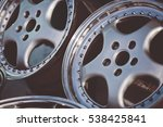 close up of rims car alloy... | Shutterstock . vector #538425841