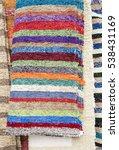 colorful carpet texture.... | Shutterstock . vector #538431169