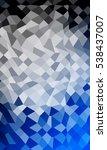 overlapping polygonal patterns. ... | Shutterstock .eps vector #538437007