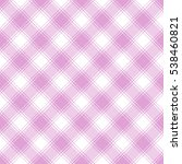 Seamless Pink And White Plaid...