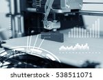 electronic three dimensional... | Shutterstock . vector #538511071