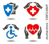 health insurance medicine... | Shutterstock .eps vector #538514869