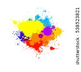 ink spots. vector | Shutterstock .eps vector #538523821