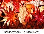 lightning paper lantern hanging ... | Shutterstock . vector #538524694
