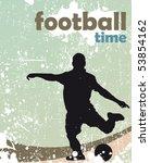 football poster | Shutterstock .eps vector #53854162