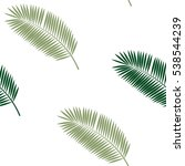 Palm Leaf Seamless Pattern...