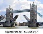 Tower Bridge  London  Opening