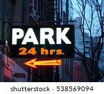 24 Hour Parking Garage Sign In...