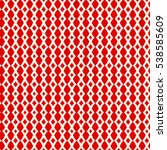 absolutely seamless red pattern.... | Shutterstock .eps vector #538585609