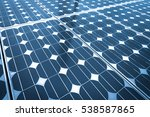 solar energy panel... | Shutterstock . vector #538587865
