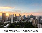 top view of  bangkok modern...   Shutterstock . vector #538589785
