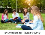 students studying together in a