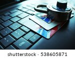 credit card security stock... | Shutterstock . vector #538605871