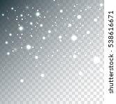 random falling platinum... | Shutterstock .eps vector #538616671