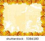 halloween background with bats  ...   Shutterstock .eps vector #5386180