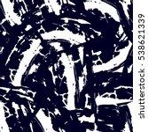 abstract seamless grunge urban... | Shutterstock .eps vector #538621339