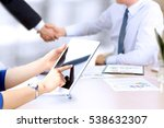 image of business partners... | Shutterstock . vector #538632307