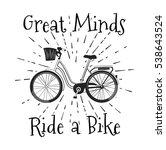 Vintage Bicycle Poster Design....