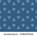 abstract seamless geometries... | Shutterstock .eps vector #538659964