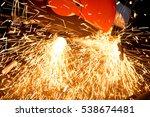 steel cutter | Shutterstock . vector #538674481