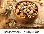 Dried Fruit And Nuts Trail Mix...