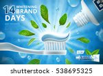 Whitening Toothpaste Ads  Mint...