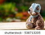 Teddy Bear Toy Sitting On The...
