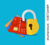 secure payment. set of secure...   Shutterstock .eps vector #538726489