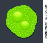 green slime on dark | Shutterstock .eps vector #538728685