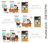banking agent consulting... | Shutterstock .eps vector #538750795