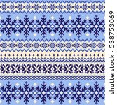 nordic pattern illustration | Shutterstock .eps vector #538753069