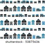 city concept. vector | Shutterstock .eps vector #53875636