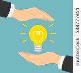 good idea protection. insurance ...   Shutterstock . vector #538777621